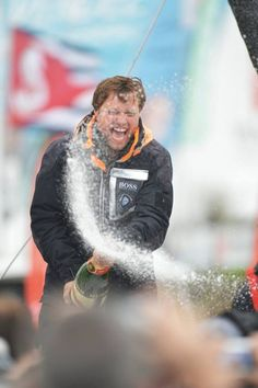 In 2013, Alex Thomson completed the race in 3rd place, in the greatest success of his off-shore sailing career