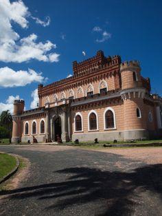 House of Francisco Piria, Castillo De Piria, Piriapolis, Maldonado, Uruguay Lámina fotográfica