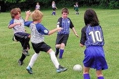 healthy children playing organized sports | Kids Playing Sports