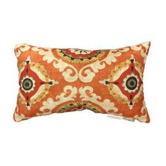 Picture of Suzani Pillow- Spice 14x20-in