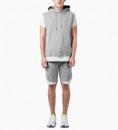Grey Fadeaway Shorts