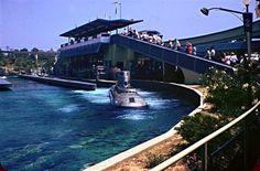 A day at Disneyland, 1960. Via Vintage Disneyland Tickets.