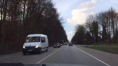 Hauptstadt Kiel - Autounfall an der B404 und Kilometerlange Stau - Der U...