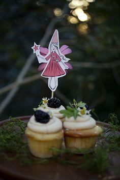 Mer Mag: Enchanted Fairy Tea Party cupcakes