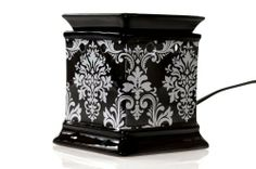 "DECAL FRAGRANCE WARMER (DAMASK) by DRAKE DESIGN. $29.00. 5248. Damask Decal Fragrance Warmer Features a graphic decal Ceramic Features a UL rated switch Standard light bulb can be found at any hardware store Wax melts sold separately 4.25"" x 5.5"""