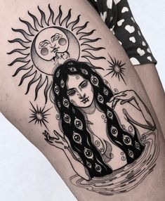 Stunningly Hot Sun Tattoos - Page 31 of 47 - tracesofmybody .com - Stunningly Hot Sun Tattoos tattoos,tattoos for women,tattoos for guys,tattoos for women small,tatto - Sun Tattoos, Trendy Tattoos, Body Art Tattoos, Tattoos For Guys, Tattoo Guys, Sleeve Tattoo For Guys, Tatoos, Woman Tattoos, Dream Tattoos
