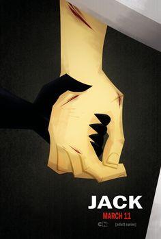 Samurai Jack/Logan poster fanart I hope Jack becomes Ashi's father figure later on