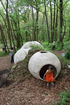 Brooklyn-based designers XLXS - Taka Sarui + Julia Molloy have just completed GrowShelter in Philadelphia, winner of the Schuylkill Environmental Education Center Sustainable Design/Build Competition.
