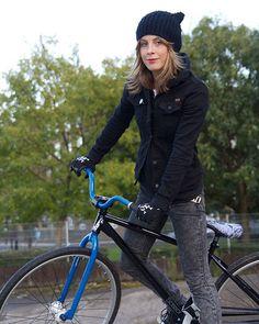 Juliet Elliot | FBF to fixed gear tricks down the bumps in Homerton on my Charge Scissor