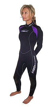 7/5mm Women's NeoSport by Henderson Full One Piece Scuba Wetsuit Wet Suit Authorized Dealer Full Warranty,$126.00 - $142.99