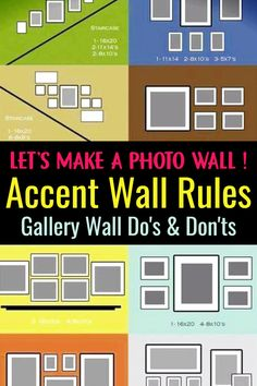 37 Picture Gallery Wall Layout Ideas For The Perfect Family Photograph Accent Wall Photo Wall Ideas &; 37 Picture Gallery Wall Layout Ideas For The Perfect Family Photograph Accent Wall Theresa Hamblett thamblett […] wall pictures Accent Walls In Living Room, Living Room Photos, Living Room Colors, Living Rooms, Accent Wall Colors, Wall Paint Colors, Wall Paint Patterns, Wall Color Combination, Gallery Wall Layout