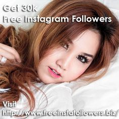 Easily get thousands of free instagram followers at http://www.freeinstafollowers.biz/