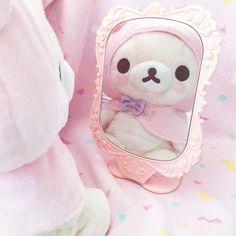 Rilakkuma Relax bear uploaded by ♡sʜɪʀᴏᴛᴀɴ♡ on We Heart It Softies, Plushies, Wallpaper Fofos, Babydoll, Pink Images, Hamster, Rilakkuma, Pink Aesthetic, Princess Aesthetic