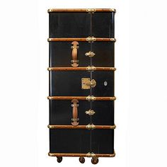Stateroom Steamer Trunk Bar - Wine Enthusiast
