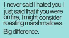 iLaugh : I never said I hated you