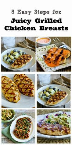How to Make Juicy Grilled Chicken Breasts That Are Perfect Every Time [from KalynsKitchen.com]