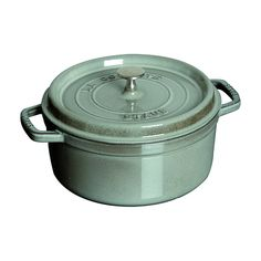 Staub 8.875 Quart Round Cocotte, Graphite Grey -- Don't get left behind, see this great  product : Dutch Ovens