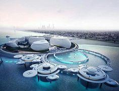 DUBAI BLUE concept design for Dubai EXPO 2020 by MOTIV TM,2013 render Pawel…