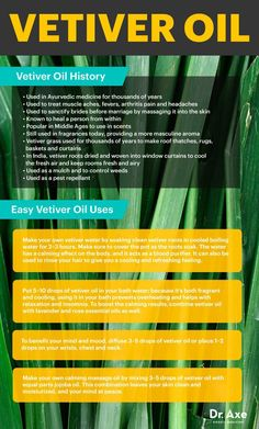 Vetiver oil history & uses infographic http://www.draxe.com #health #natural #holistic