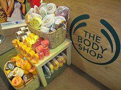 The Body shop - shae body butter, shae soap; hemp body butter for harsh winter months