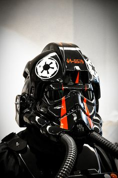 Tie Fighter Pilot by Zanthia, via Flickr