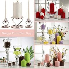 white and red valentines table decorations | Decorations for Valentine Day Image 301 Romantic Table Decorations ...