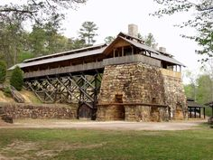 Tannehill State Park - site of old iron works