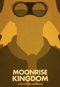 Alternative Moonrise Kingdom Posters - Design - ShortList Magazine (by Fran Asensio)