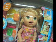Baby Alive boneca brinquedo  Comilona Cabelos Fashion Hora do Chá Hora d...