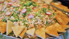 Almond Grilled Chicken Salad, Atlanta Weddings, The Pavillion at Olde Towne, Avenue Catering Concepts