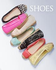 Shoes at Victoria's secret. they look cute