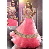 sangeeta-ghosh-pink-net-floor-length-anarkali-suit