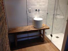 Salle de bain Zellige blanc pur - Salle de bain, Douche, Carrelage, Faïence - Dinard : Salle de bain réalisé par Salmon Carrelage à Dinard  Réalisation effectuée par Salmon Carrelage.