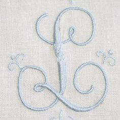So detailed and pretty. It would be stunning on a wedding gown or bridal veil.