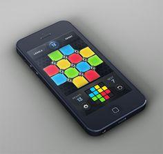 Game UI Design - Rotix by CreativeDash , via Behance - #appdesign #gamedesign #ui