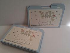die kleine Kartenwerkstatt: bearing gifts of christmas cheer