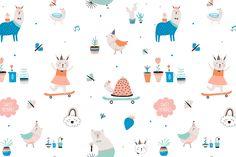 Hello Summer cards & posters by Ruslana Vasiukova on @creativemarket