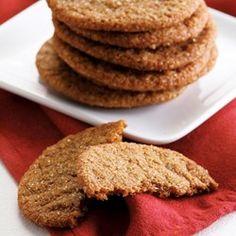 Ginger Crinkle Cookies - EatingWell.com