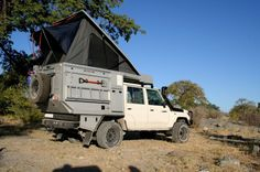 Group C Toyota Landcruiser Double Cab Bushcamper for 2-4 people