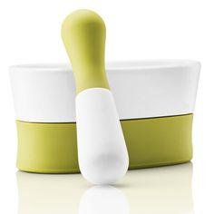 Award winnig mortar from Eva Solo #awardwinning #evasolo #mortar #design #homedecor #kitchen #products Spice Grinder, Spice Jars, Mortar And Pestle, Red Dots, Danish Design, Design Awards, Decoration, Kitchenware, Tableware