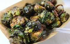 Deep-Fried Brussels Sprouts by Caveman Cafeteria