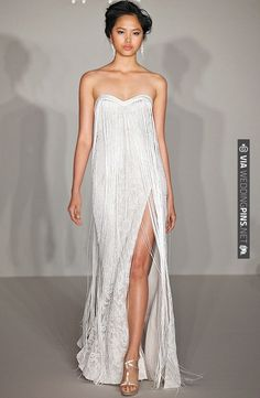 LOOOOOOVE Hayley Paige 2012 Wedding Dress Collection | CHECK OUT MORE IDEAS AT WEDDINGPINS.NET | #weddingfashion
