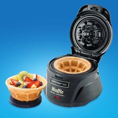 Happy Waffle Day! (Great deal on the Waffle Bowl Maker today) #waffleday #waffle #omnomnom #mycoolstuff
