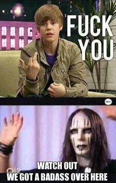 HAHAHAHAHA!!! So true. Justin Bieber is a joke