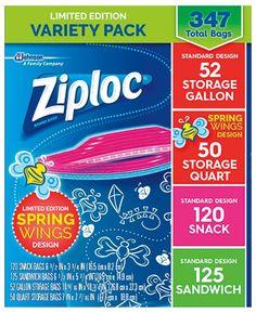 Ziploc Storage Bag    Variety Pack Costco Coupons, Wings Design, Bag Storage, Warehouse, Snacks, Appetizers, Magazine, Barn, Storage