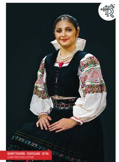Horný Tisovník, Podpoľanie, Slovakia Folk Embroidery, Red Boots, Folk Costume, Traditional Outfits, Ukraine, Bohemian, The Incredibles, Culture, European Countries