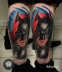 Amazing Batman Tattoo