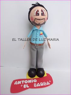 EL TALLER DE LUZ MARIA: FOFUCHO  REPARTIDOR  MATUTANO