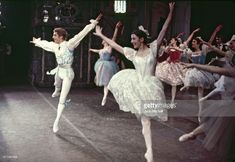 Erik Bruhn and Carla Fracci pderforming American Ballet Theatre's 'Coppelia' in December 1968. (Photo by Jack Mitchell/Getty Images)