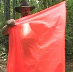 Cover: Bushcraft USA MEST™ 5'x7' tarp- SAR Version